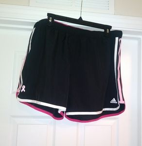 adidas breast cancer shorts